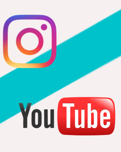 YouTube i Instagram